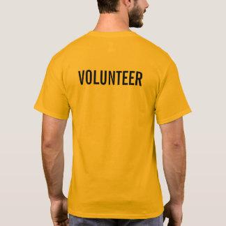 Yellow Volunteer T-Shirt