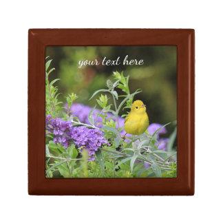 Yellow Warbler Gift Box