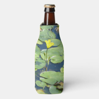 Yellow Water Lily Bottle Cooler