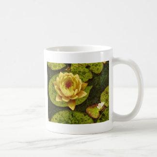 Yellow Water Lily Coffee Mug