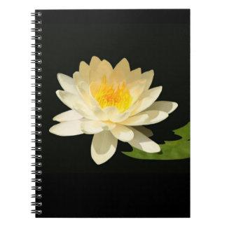 Yellow Waterlily Notebook