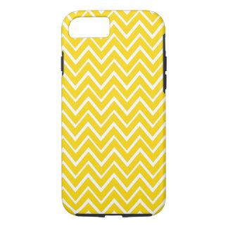 Yellow whimsical chevron zigzag pattern case