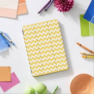 Yellow White Chevron iPad Pro Cover