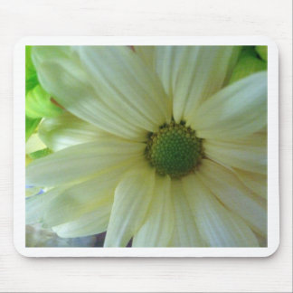 Yellow/White Daisy Mouse Pad