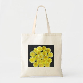 Yellow Wild Flowers Tote Bags