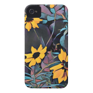Yellow Wild Flowers iPhone 4 Cover