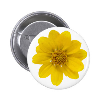 Yellow Wildflower Pin