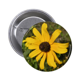 yellow wildflower pins
