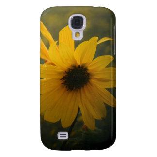 yellow wildflower samsung galaxy s4 case