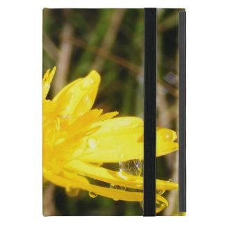 Yellow Wildflower Cover For iPad Mini
