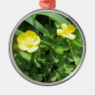 Yellow Wildflower Ornament