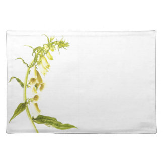 Yellow Wildflower Dining Placemat