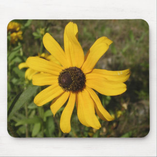 yellow wildflower mouse pads