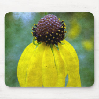 Yellow Wildflower Mouse Pad