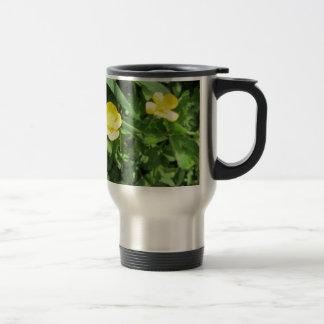 Yellow Wildflower Coffee Mugs