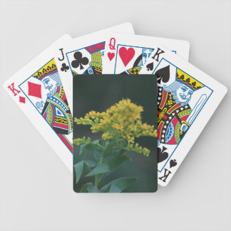Yellow Wildflower Playing Cards