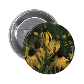 Yellow Wildflowers Pins
