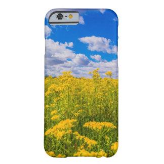 Yellow Wildflowers Blue Sky iPhone Case