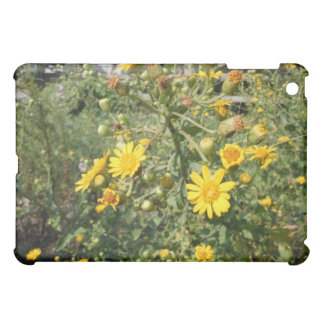 Yellow Wildflowers Cover For The iPad Mini