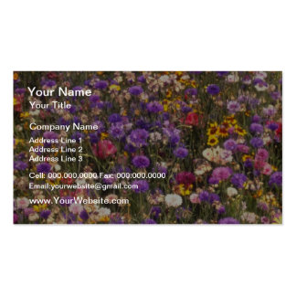 Yellow Wildflowers flowers Business Cards