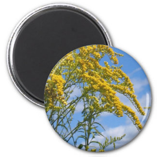 Yellow Wildflowers Magnet