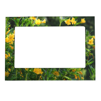 Yellow Wildflowers Magnetic Frame