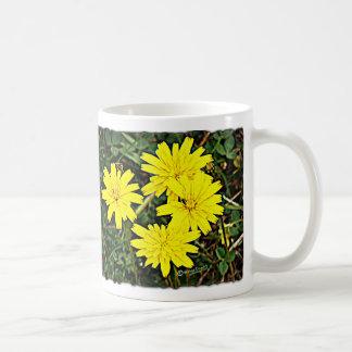 Yellow Wildflowers Mugs