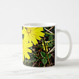 Yellow Wildflowers Coffee Mugs