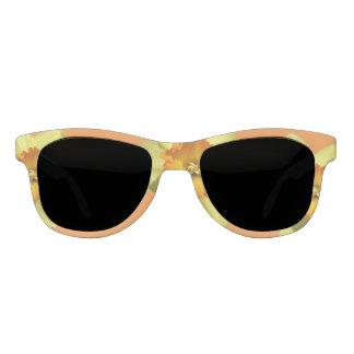 Yellow with Oranje Heart Daffodil Sunglasses