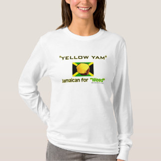 Yellow Yam: Food of World's Fastest People T-Shirt