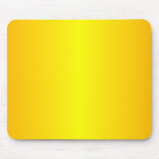 Yellow - Yellow and Chrome Yellow Mouse Pads