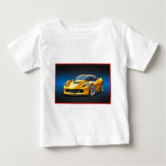 Yellow_Z06 Baby T-Shirt