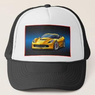 Yellow_Z06 Trucker Hat
