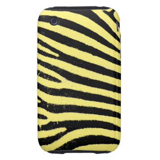Yellow Zebra iPhone 3G/3GS Case-Mate Tough iPhone 3 Tough Covers