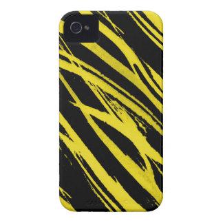 yellow zebra iPhone 4 Case-Mate cases