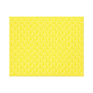 Yellow Zebra Print Pattern