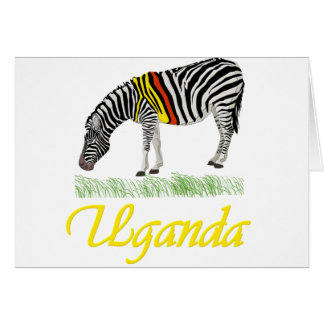 Yellow Zebra Series Card