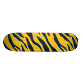 yellow zebra skate board