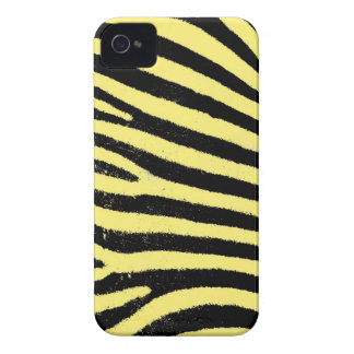 Yellow zebra stripes iPhone 4 Case-Mate ID™ iPhone 4 Cover