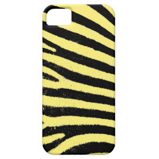 Yellow zebra stripes iPhone 5 Case-Mate ID™ Barely There iPhone 5 Case