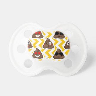 Yellow Zig Zag Poop Emojis Dummy