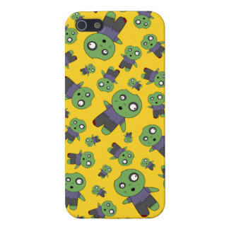 Yellow zombies iPhone 5/5S case