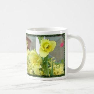 yellowflower coffee mugs