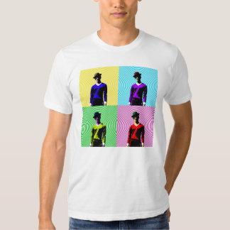Yellowman, Tealman, Greenman, Pinkman T-shirts