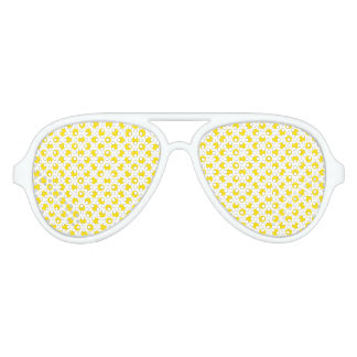 YellowPolkaDots Aviator Sunglasses
