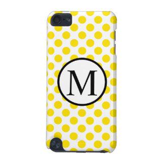 YellowPolkaDots iPod Touch (5th Generation) Case