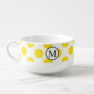 YellowPolkaDots Soup Mug