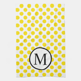 YellowPolkaDots Tea Towel