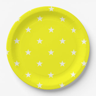 YELLOWSTARS Paper Plate BEALEADER 9 Inch Paper Plate