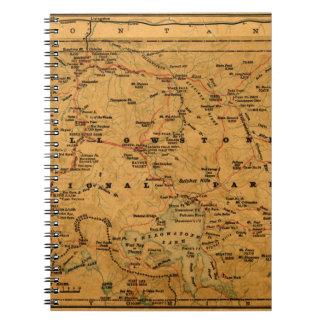 Yellowstone 1880 notebook